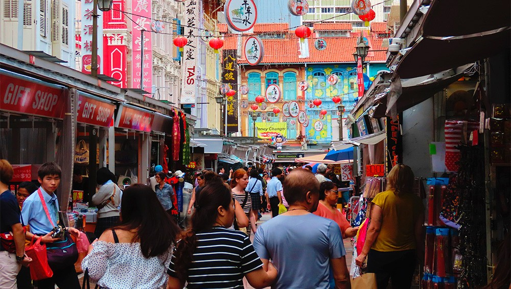 El barrio chino de Singapur