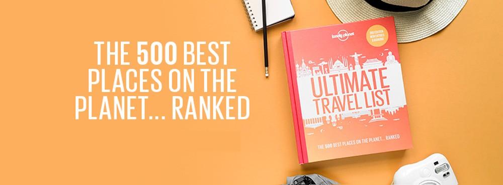 """Ultimate Travel List"" de Lonely Planet"