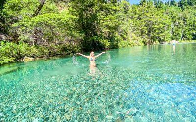 ▷ El Paraíso del Río Azul en El Bolsón